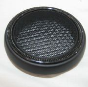Speaker grille (lower) with carbon fibre ring